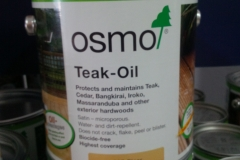 Osmo-Teak-oil